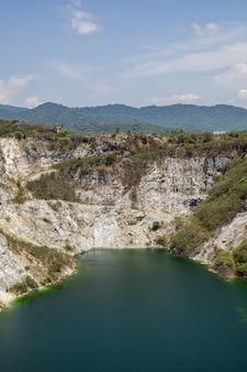 Paisaje del gran cañón en tailandia.