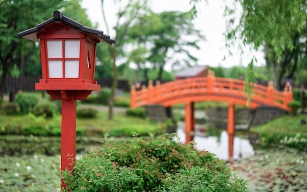 Paisaje jardín japonés