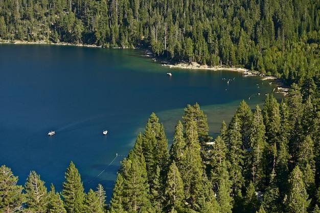 Paisaje del lago tahoe