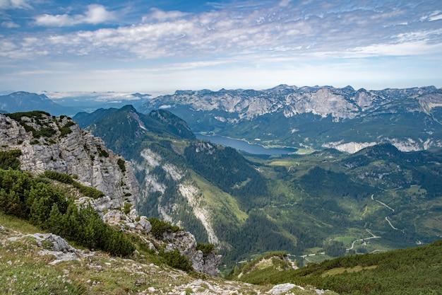 Paisaje de montaña en los alpes austriacos