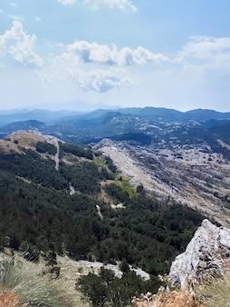 Paisaje de montenegro