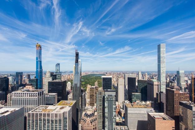 Paisaje urbano de la ciudad de nueva york