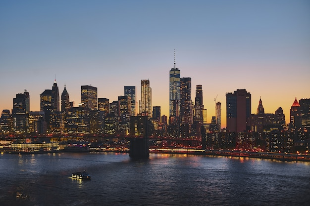 Paisaje urbano de nueva york