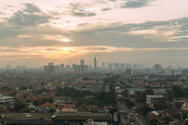 Paisaje urbano de yakarta