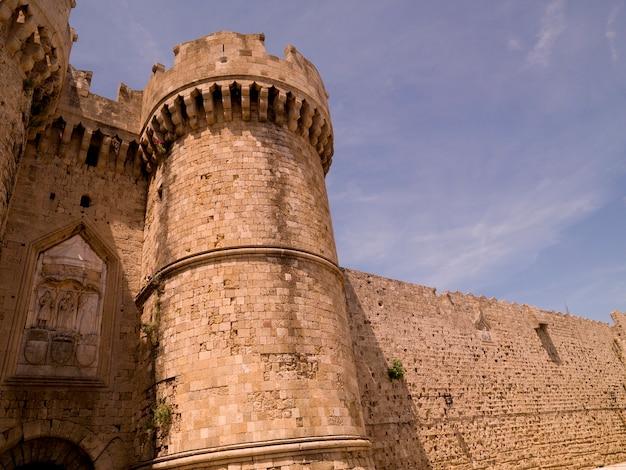Palacio de los grandes maestros en rodas grecia
