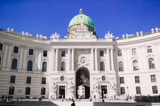 Palacio hofburg en viena