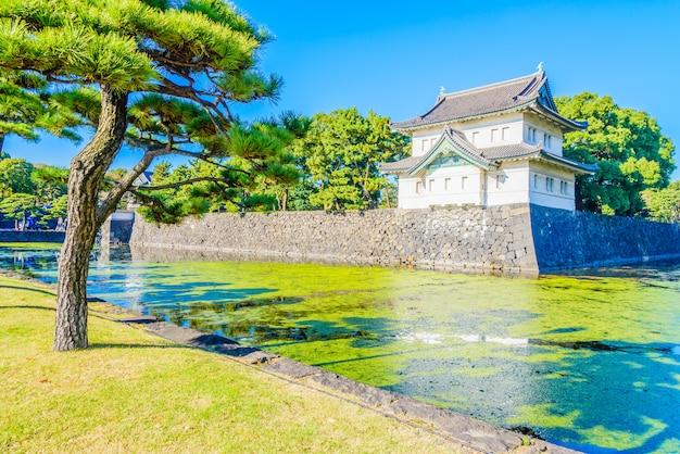 Palacio imperial en tokio japon