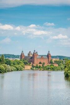 Palacio de johannisburg en aschaffenburg, cerca de frankfurt, alemania