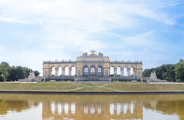 Palacio de schonbrunn jardín glorieta