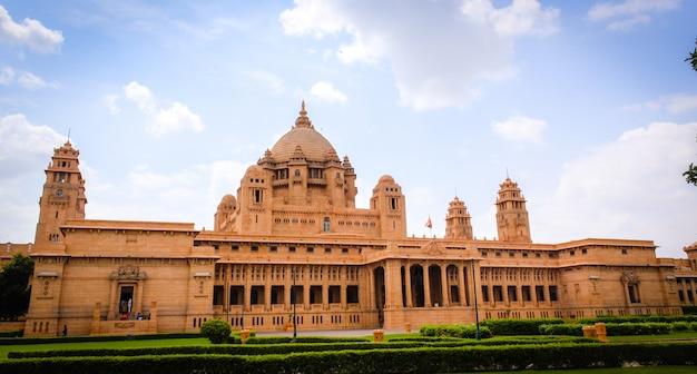 Palacio de umaid bhawan-jodhpur