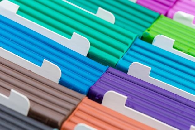 Palitos de plastilina de colores