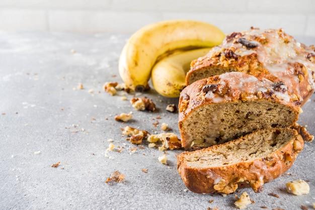 Pan de banana casero