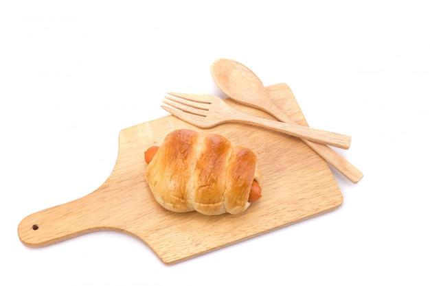 Pan con chorizo.