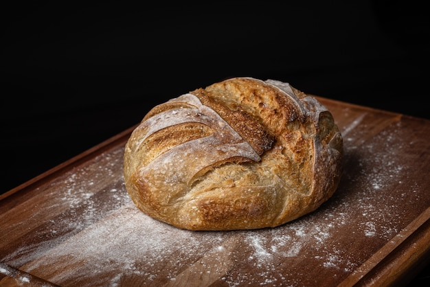 Pan de masa fermentada casero