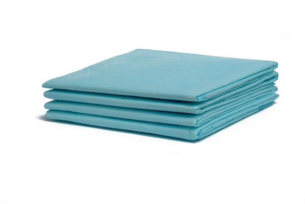 Pañales azules médicos desechables Foto Premium