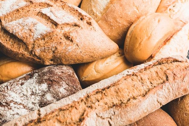 Panecillos con textura de pan