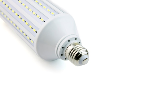 Panel led de lámpara led. la luz emite diodos