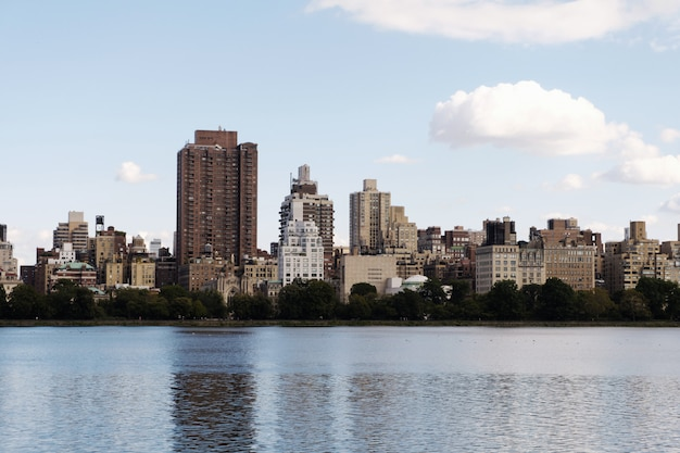 Panorama de la ciudad de nueva york