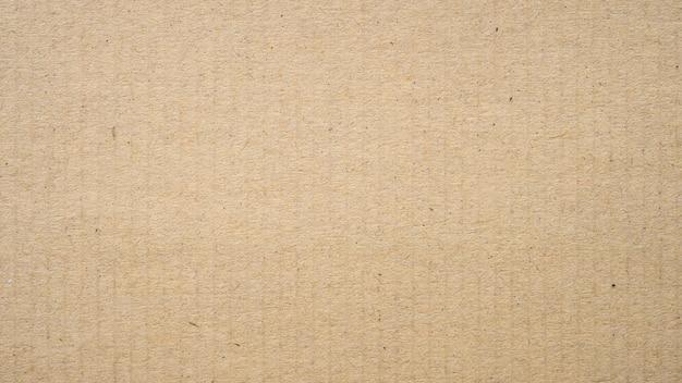 Panorama de fondo de papel kraft y textura con espacio de copia