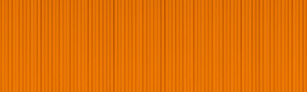 Panorama del nuevo fondo anaranjado de pared de metal acanalado.