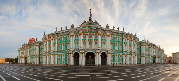 Panorama del palacio de invierno