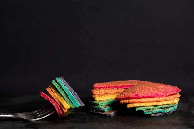 Panqueques de arco iris