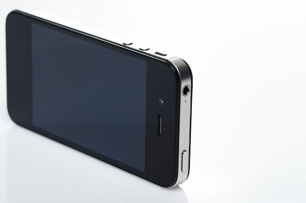 Pantalla negra de smartphone