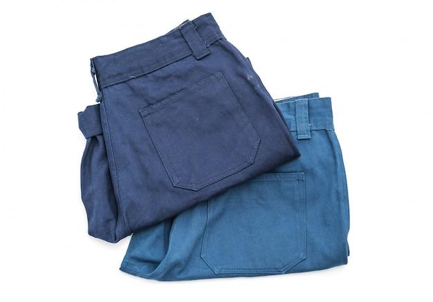 Pantalón corto en blanco
