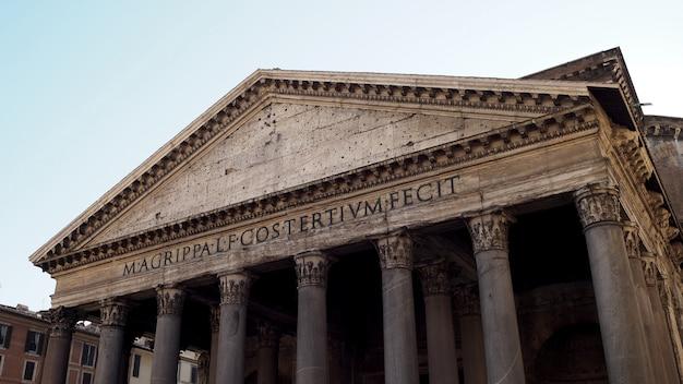 Panteon en roma italia