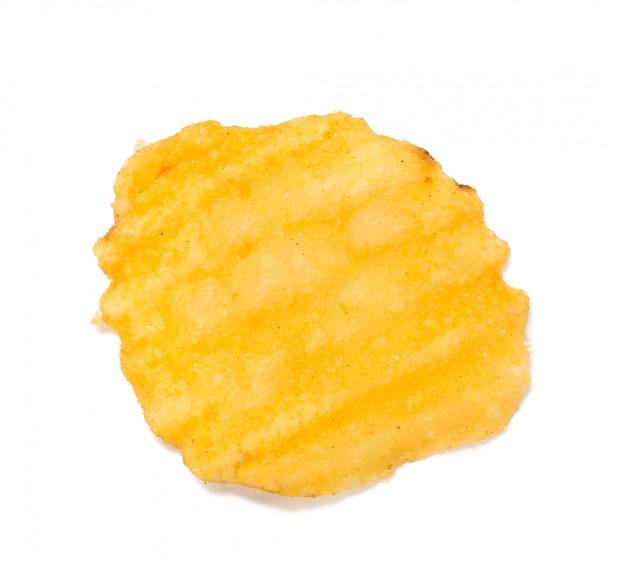 Papas fritas amarillas aisladas
