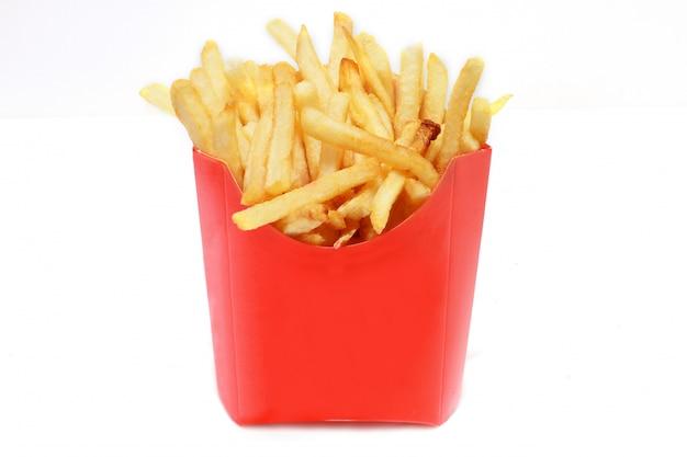 Papas fritas, comida callejera