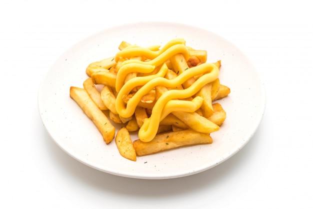 Papas fritas con queso