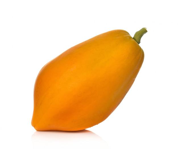 Papaya aislada