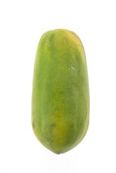 La papaya blanca madura sección completa