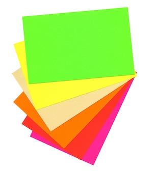 Papel coloreado