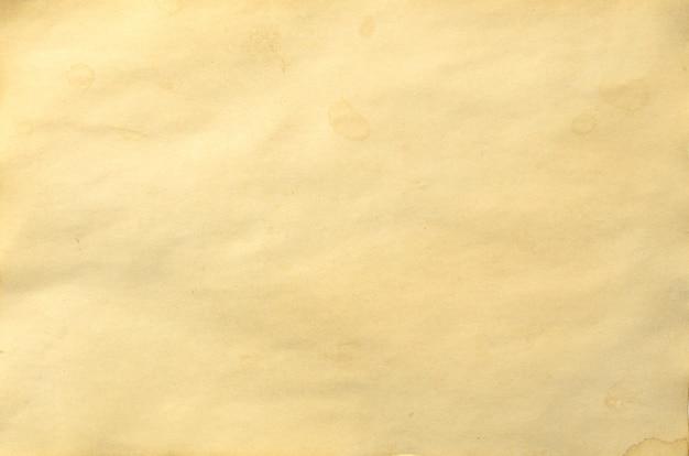 Papel desmoronado vintage antiguo en blanco