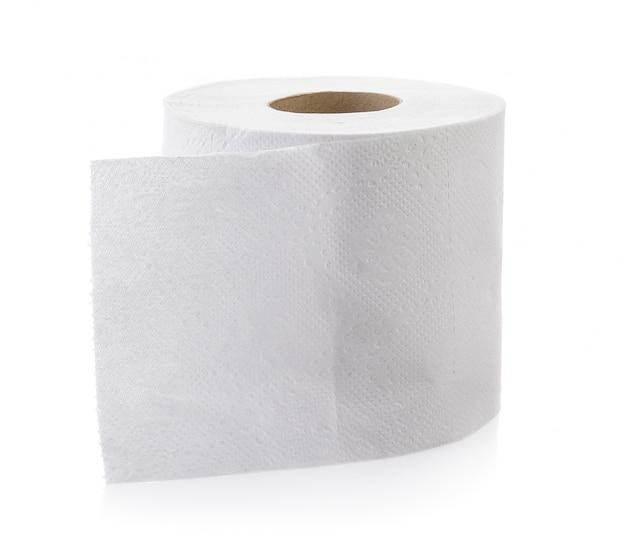 Papel higiénico aislado