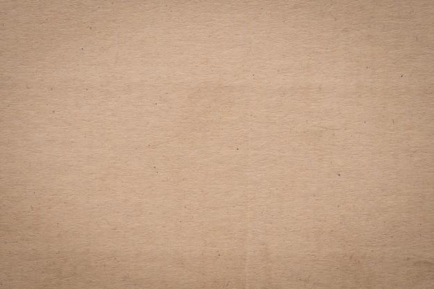 Papel marrón y textura de papel kraft y fondo con espacio.