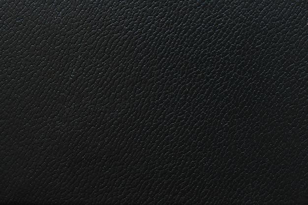 Papel pintado de cuero negro fragmento macro textura