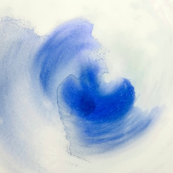 Papel pintado decorativo pintado a mano con pinceladas sobre espuma blanca