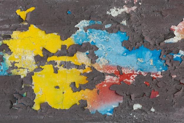 Papel pintado mural colorido abstracto de graffiti