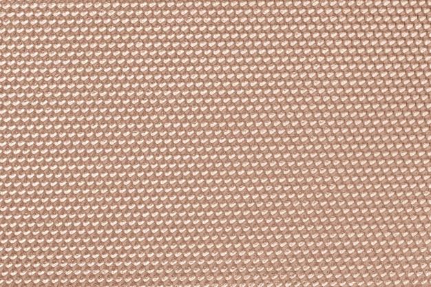 Papel pintado con patrón de panal de color beige