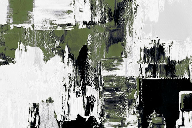 Papel tapiz de fondo verde abstracto, textura de pintura mixta