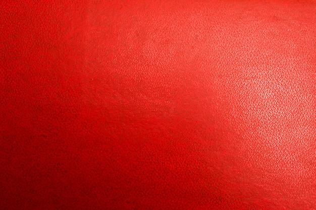 Papel tapiz de primer plano de cuero rojo