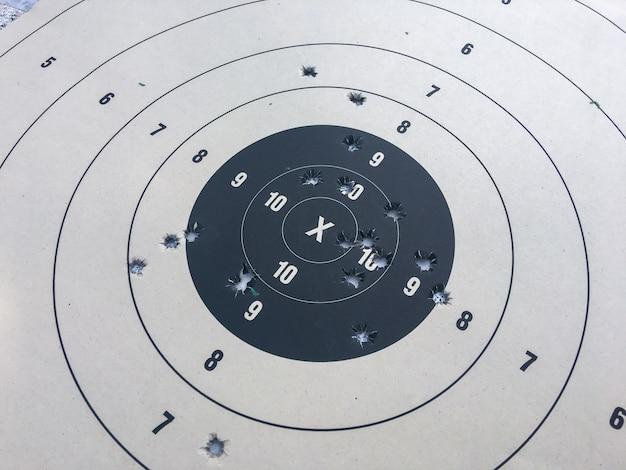 Papel de tiro al blanco
