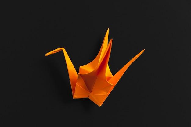 Papeles de origami de cerca