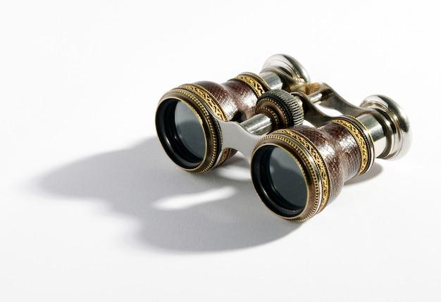 Par de binoculares vintage