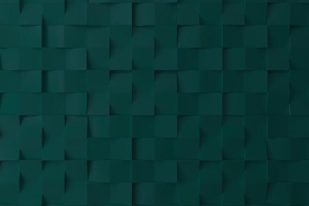Pared 3d de color verde para el fondo