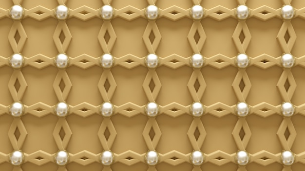 Pared arquitectónica, interior, blanco, amarillo, textura de oro. representación 3d