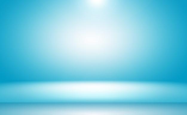 Pared azul degradado de lujo abstracto.